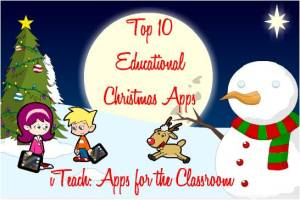 10 Educational Christmas Apps pic