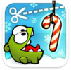 Cut the rope xmas logo