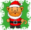 Preschool Christmas Kitty logo
