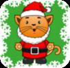 Preschool Christmas Kitty logo